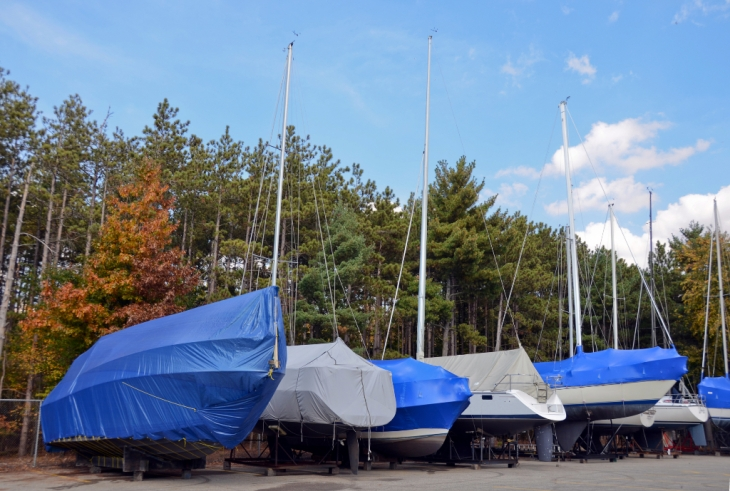Looking for Boat Covers? Consider the Fabrics Used