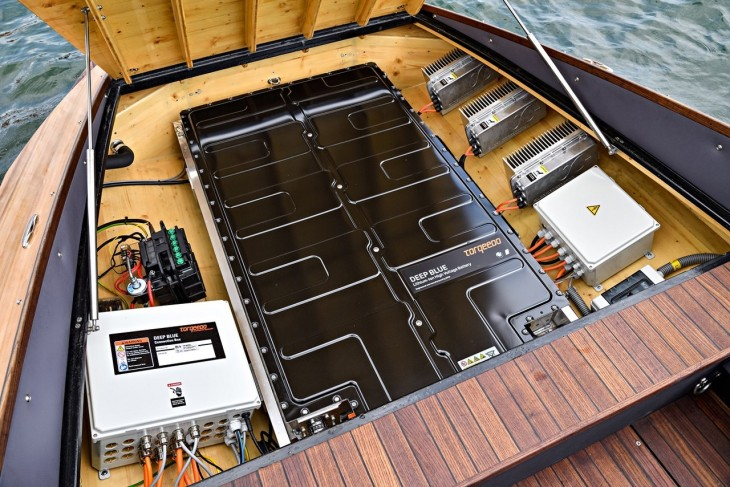 Torqeedo Engineered an Electronic Boat Using BMW's iBattery Technology