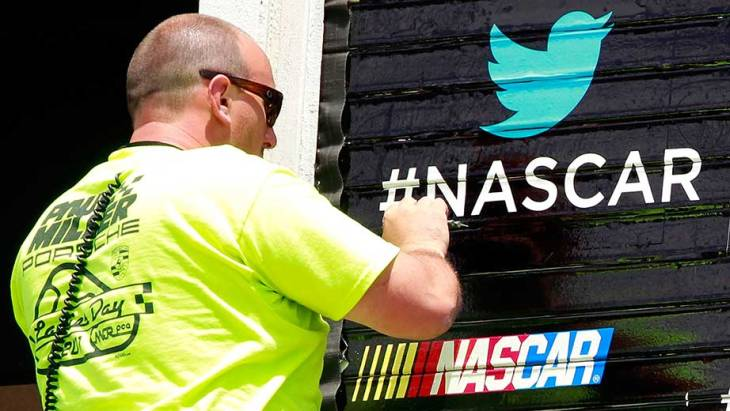 Twitter and NASCAR