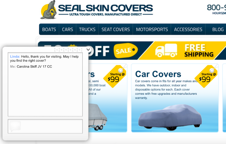 sealskincovers website